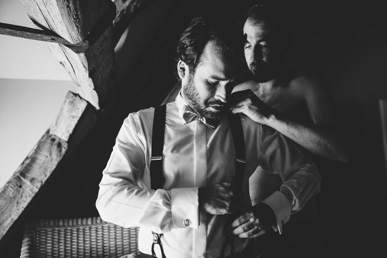 Préparatifs de marié