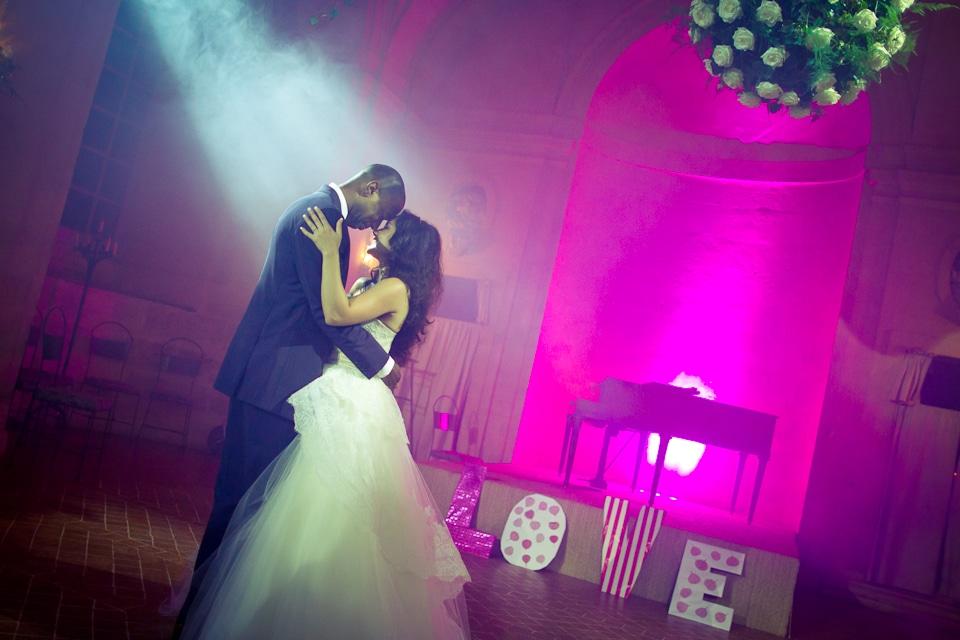 Danse de mariage au château des Condé