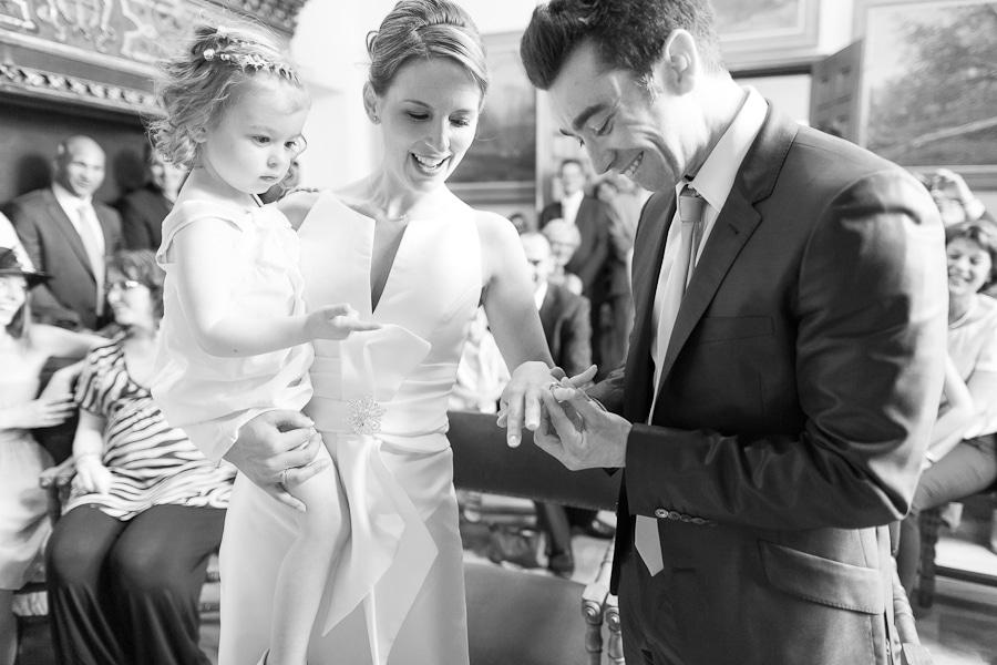 Travail photographe de mariage