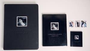 Comparatif des tailles des libres albums de mariage