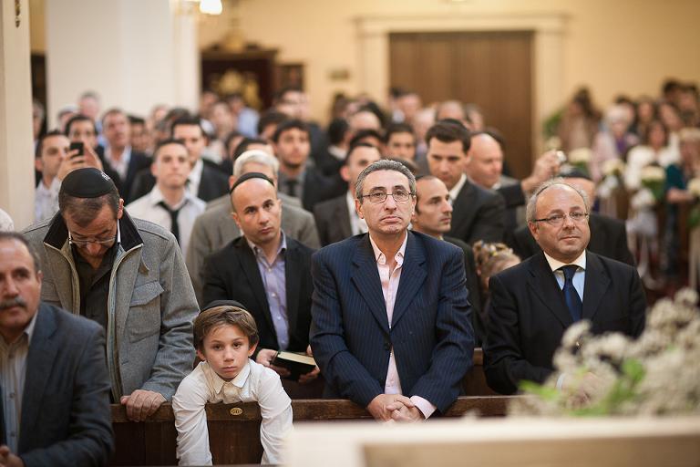 mariage juif à la synagogue de Neuilly