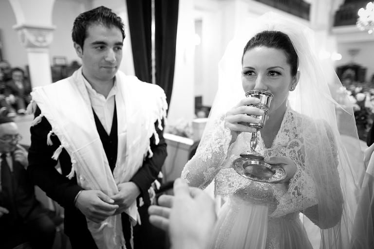 la tradition d'un mariage juif