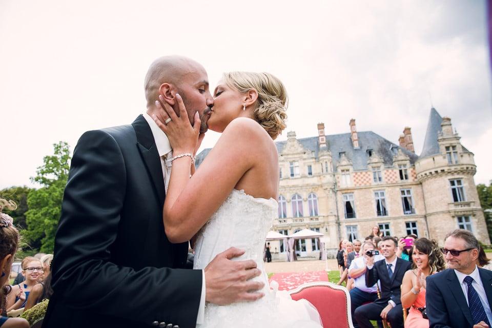 mariage château Esclimont