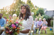Emotion de la mariée